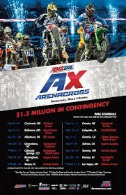 2015 pro motocross schedule 2016 amsoil arenacross schedule transworld motocross