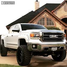 lifted gmc wheel offset 2014 gmc sierra 1500 super aggressive 3 5 suspension