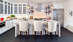 Mediterranean Kitchen Tiles - jasmine 2 corona del mar mediterranean kitchen orange
