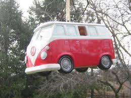 pink volkswagen van thesamba com gallery vw bus birdhouse