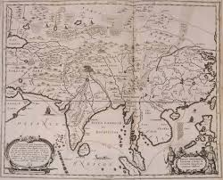 Historical Maps Historical Map Of Asia 1670 U2022 Mapsof Net
