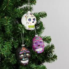 skull christmas decorations best christmas decoration 2017