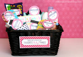 baby shower basket ideas baby gift printable tags favorite things my s suitcase