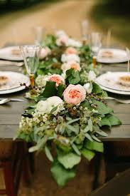 wedding garland 23 wedding trend unique floral wedding garland table runner ideas