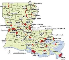 louisiana map areas wildlife management areas louisiana seasons
