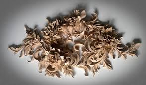 the wall decoration custom ornamental wood carving wood