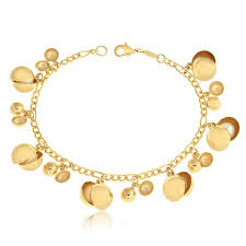 pearl fashion bracelet images Gold filled pearl beaded charm bracelet women fashion jewelry jpg