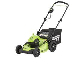 greenworks mo60l410 item 725987 lowe u0027s lawn mower u0026 tractor