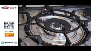 Bosch Cooktops Expert Describes The Easy To Use Five Ring Bosch Pcq715b90a Gas