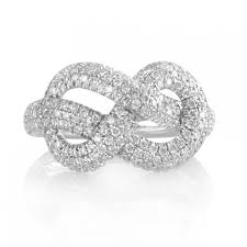 infinity diamond ring outstanding dainty diamond jewelry infinity knot diamond ring