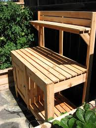 Build A Work Table How To Build A Garden Work Table The Garden Inspirations