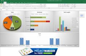 Excel Template Dashboard Guide To Excel Project Management Projectmanager Com