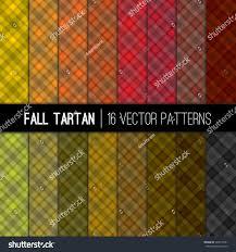 thanksgiving background image fall tartan vector patterns warm autumn stock vector 524510551