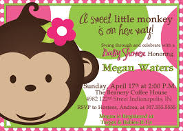 baby shower decorations monkey theme baby shower invitations