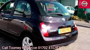nissan micra used car review 2010 nissan micra n tec 1 2l nightshade ex60pnz for sale at toomey