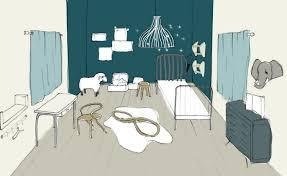 coloriage de chambre de fille objet deco chambre fille estein design avec dessin pour chambre b b