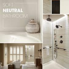 neutral bathroom ideas soft neutral bathroom kohler ideas