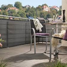sichtschutz balkon grau balkon sichtschutz balkonverkleidung bauhaus