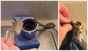 cleaning kitchen faucet replacing a moen 1225 kitchen faucet cartridge let s tap that