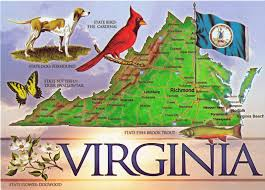 Richmond Virginia Map by Virginia State Map Old Town Portsmouth Pinterest Virginia
