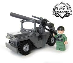 brickmania jeep instructions m825 mutt 1 4 ton 4 4 weapon carrier with 106mm recoilless rifle