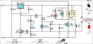 how to build lithium polymer peak charger circuit diagram