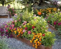 incredible raised bed flower garden 17 best ideas about raised