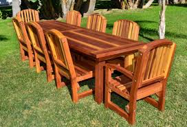 No Cushion Outdoor Furniture - redwood patio chairs images pixelmari com