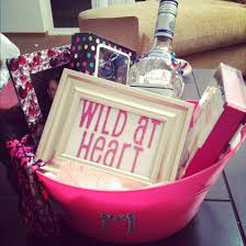 birthday gift baskets for women i m so excited to finally about a gift basket that i made for