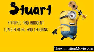 names despicable minions characters list
