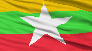 Myanmar Flag Photos Waving National Flag Of Myanmar Motion Background Videoblocks