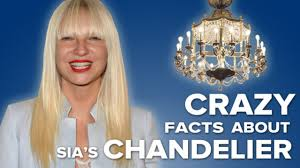 crazy facts about sia u0027s u0027chandelier u0027 video dailymotion