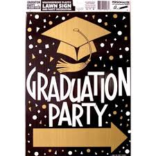 graduation sign graduation party yard signs graduation party arrow sign