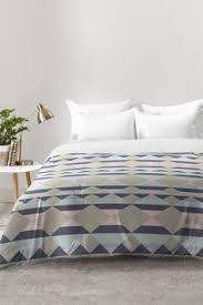 monika strigel within the tides lilac gray comforter comforter