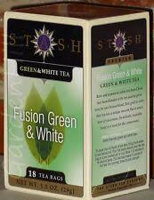 stash tea fusion green and white tea 6 x 18 tea bags ebay