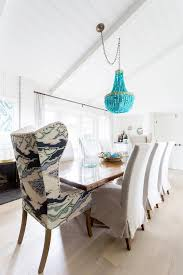 turquoise beaded chandelier turquoise beaded chandelier on sloped ceiling transitional