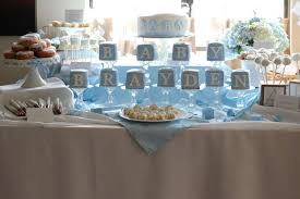 baby shower ideas for boy shabby chic boy baby shower party ideas photo 16 of 21 catch
