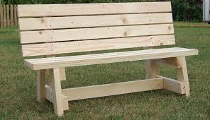 gardening bench cool idea diy garden bench simple seat project metric version