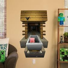 Minecraft Bedroom Decals by 50 Best Boy Cave Images On Pinterest Minecraft Room Bedroom