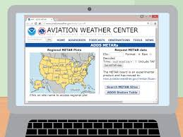 Show Me The Weather Map How To Read An Aviation Routine Weather Report Metar 13 Steps