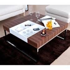 modern walnut coffee table contemporary walnut coffee table w flip tray ebay