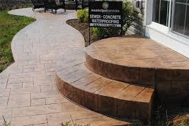 Decorative Concrete Patio Contractor Stamped Concrete Gallery Willoughby Ohio Free Estimates