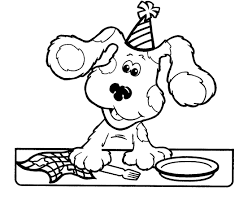 educational coloring pages for kids free printable blues clues coloring pages for kids