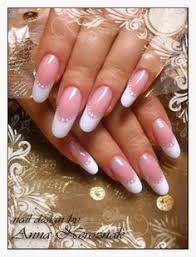 oval french uv gel nail art pinterest uv gel and beauty tricks