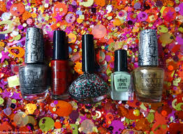 sparkly nails for christmas and new year glitterball magazine