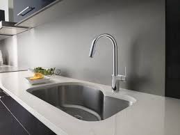 moen chrome kitchen faucet moen 7565 align single handle high arc pulldown kitchen faucet