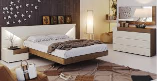 Outdoor Furniture In Spain - modern bedroom set elena in two tone finish by esf furniture made
