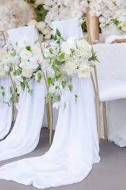 Wedding Flower Ideas 7 Best Wedding Chairs Images On Pinterest Wedding Chair Covers