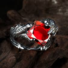 gothic ruby rings images 30 gothic engagement rings for your gothic style proposal pricole jpg