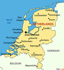 Blank Political Map by Netherlands Location On The World Map Where Is Amsterdam Location